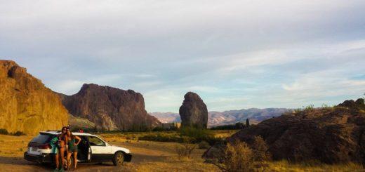 Subaru Outback at Piedra Parada